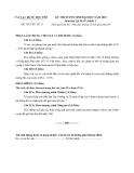 ĐỀ THI THỬ NĂM 2012 SỐ 11__Môn lịch sử