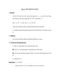 Bài 12. TỔNG HỢP DAO ĐỘNG