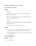 Bài 2. PHƯƠNG TRÌNH ĐỘNG LỰC HỌC CỦA VẬT RẮN QUAY QUANH MỘT TRỤC CỐ ĐỊNH