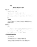 GIÁO ÁN MÔN LÝ: Bài 30. MÁY PHÁT ĐIỆN XOAY CHIỀU