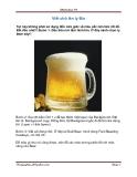 Viết chữ lên ly Bia