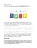 Tâm lý nghề sale