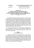 Nghị quyết Số: 18/NQ_CP