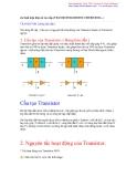 Các linh kiện điện tử cao cấp (TRANSISTOR,MOSFET,THYRISTOR...)