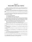 Chương 13TRAO ĐỔI CHẤT QUA MÀNG