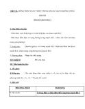 TIẾT 21: DÒNG ĐIỆN XOAY CHIỀU TRONG ĐOẠN MẠCH KHÔNG PHÂN NHÁNH (ĐOẠN MẠCH RLC)
