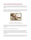 Vai trò của Kế hoạch tài chính trong tâm thức