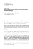 """Báo cáo hóa học: """" Research Article Iterative Methods for Generalized von Foerster Equations with Functional Dependence"""""""