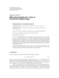 """Báo cáo hóa học: """" Research Article Bifurcation Results for a Class of Perturbed Fredholm Maps"""""""