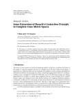 """Báo cáo hóa học: """"Research Article Some Extensions of Banach's Contraction Principle in Complete Cone Metric Spaces"""""""