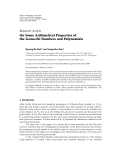 """Báo cáo hóa học: """"Research Article On Some Arithmetical Properties of the Genocchi Numbers and Polynomials"""""""