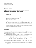 """Báo cáo hóa học: """" Research Article Eigenvalue Problems for p-Laplacian Functional Dynamic Equations on Time Scales"""""""