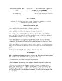 Quyết định số 58/QĐ-TTg