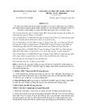 Thông tư số 05/2012/TT-BGDĐT