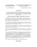 Quyết định số 14/QĐ-BNN-KHCN
