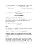Quyết định số 231/QĐ-TTg