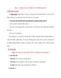 Bài 1 : NGHỊ LUẬN VỀ MỘT TƯ TƯỞNG ĐẠO LÍ