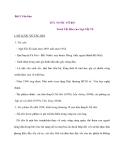Bài 5 Văn bản TỨC NƯỚC VỠ BỜ