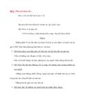 Đề 2: Phân tích đoạn thơ: Khi ta lớn lên Đất Nước đã có rồi ... Hạt gạo phải một nắng hai sương xay, giã, giần, sàng Đất Nước có từ ngày đó... ( Trích Trường ca Mặt đường khát vọng)- Nguyễn Khoa Điềm.