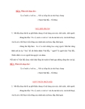 Đề 2: Phân tích đoạn thơ: Ta về mình có nhớ ta .... Nhớ ai tiếng hát ân tình thuỷ chung ( Trích Việt Bắc – Tố Hữu)