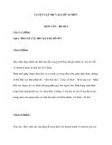 LUYỆN TẬP THI VÀO LỚP 10 THPTMÔN VĂN - ĐỀ SỐ 5