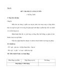 Tiết 81 BỨC TRANH CỦA EM GÁI TÔI  I- Mục tiêu cần đạt Giúp hs -