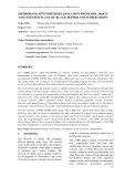 """Báo cáo nghiên cứu khoa học """" METHODS OF PHYTOPHTHORA ISOLATION FROM SOIL, ROOT AND INFESTED PLANT OF BLACK PEPPER AND OTHER CROPS """""""