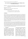 "Báo cáo nghiên cứu khoa học "" NEW TECHNOLOGIES FOR IMPROVING GOAT PRODUCTION IN CENTRAL VIETNAM """