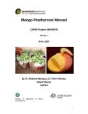 """Báo cáo nghiên cứu khoa học """" Mango Postharvest Manual - Version 1"""""""