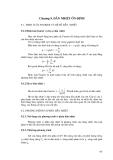 giáo trình kĩ thuật nhiệt_chương 9