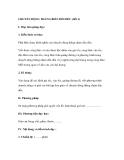 CHUYỂN ĐỘNG THẲNG BIẾN ĐỔI ĐỀU (tiết 2)