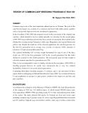 """Báo cáo nghiên cứu nông nghiệp """" review of Common carp breeding program at RIA1-VN """""""