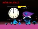 Giáo án tiểu học : Thực hành xem đồng hồ