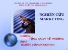 Tổng quan về phương pháp nghiên cứu Marketing