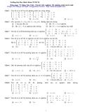 Bài tập  toán A2 (Phần 3)