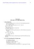 Bài giảng hóa đại cương (Phần 5)