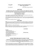 Quyết định số : 212/QĐ-BTP