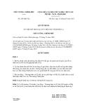 Quyết định số 245/QĐ-TTg