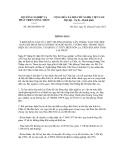 Thông báo số 260/TB-BNN-VP