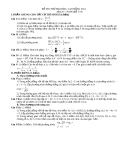 Đề thi thử đại học môn toán năm 2012_Đề số 174