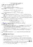 Đề thi thử đại học môn toán năm 2012_Đề số 178