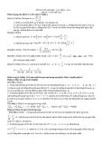 Đề thi thử đại học môn toán năm 2012_Đề số 180