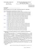 Đề thi tuyển sinh Đại học Tiếng Đức 2012-Mã 148