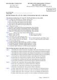 Đề thi tuyển sinh đại học Tiếng Đức 2012-Mã 379