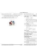20 đề thi thử tốt nghiệp trung học phổ thông môn toán 2012