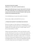 BÀI SOẠN ÔN THI TỐT NGHIỆP MÔN QUẢN LÝ NHÀ NƯỚC VỀ KINH TẾ (PHẦN 4)