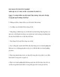 BÀI SOẠN ÔN THI TỐT NGHIỆP MÔN QUẢN LÝ NHÀ NƯỚC VỀ KINH TẾ (PHẦN 3)