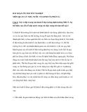 BÀI SOẠN ÔN THI TỐT NGHIỆP MÔN QUẢN LÝ NHÀ NƯỚC VỀ KINH TẾ (PHẦN 2)