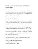 CHƯƠNG I : LÝ LUẬN CHUNG VỀ QUẢN LÝ NHÀ NƯỚC VỀ KINH TẾ (Phần 4)