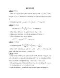 Đề thi toán khối D năm 2012